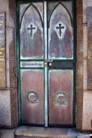 Beautiful Rust Doors by serp-stock