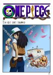 OP-doujin: The cat got trapped - cover by Evanyia