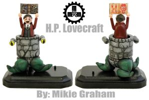 Lovecraft  by zombiemonkie