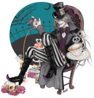 Undertaker the Mad Hatter by MoritaTsubaki
