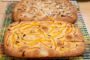 Home-baked focaccia by patchow