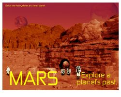 MARS Travel Posters Number Thr by tolemach