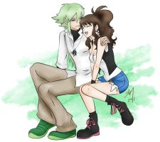 Touko and N by Rossilyn