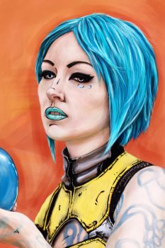 Maya - Borderlands 2 by Wolle8890