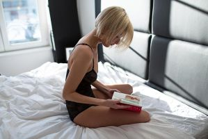 Virginie and medicine book by Who-Is-Chill