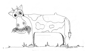 Cow by CatherineDS