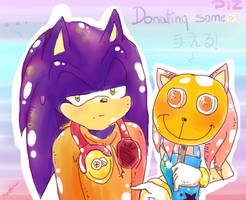 Sonamy-donating some points by Klaudy-na