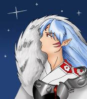 Midnight Sesshomaru by Tutankhamun