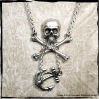 Pirates Booty Necklace by SoulCatcher06