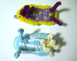 Chromodoris Nudibranch Amigurumi by Chromodoris