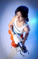 Portal 2: meet Chell! by GlamForUs