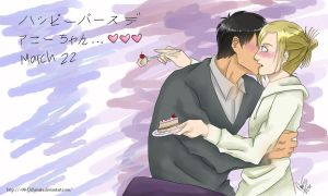 Bertholdt and Annie in march 22 by 08-Uchimata