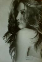 Rosie Huntington-Whiteley by CaptainJoellie