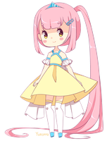 Pink-haired Chibi [Adoptable, Open] by Yuroppa