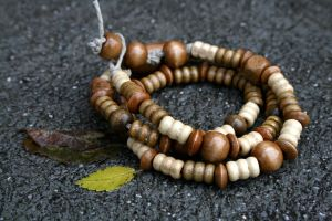 Various Wood Bracelet Wrap by clroavieg