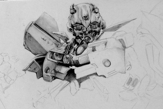 Bumblebee Detail by FreedomSparrow3