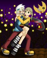 Soul and Maka by sthephanymel