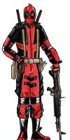 Deadpool Costume Design by mattbyles