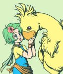 Rydia and Chocobo by Kaigetsudo