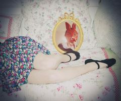 alice, the rabbit is waiting for you by Holunder