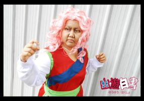 Yu Yu Hakusho: Don't mess with the granma by skypegasus