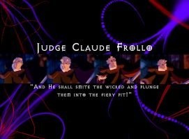 Judge Claude Frollo wallpaper by jeanmarie95