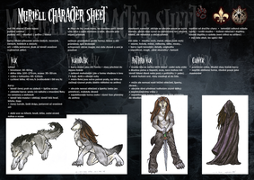 Muriell char sheet -WIP- by Samantha-dragon