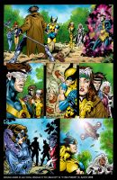 X-Men page by DarkKnight81