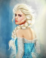 Snow Queen Elsa by vanadise