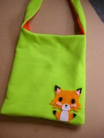 Fox bag by gingerbreadkitty