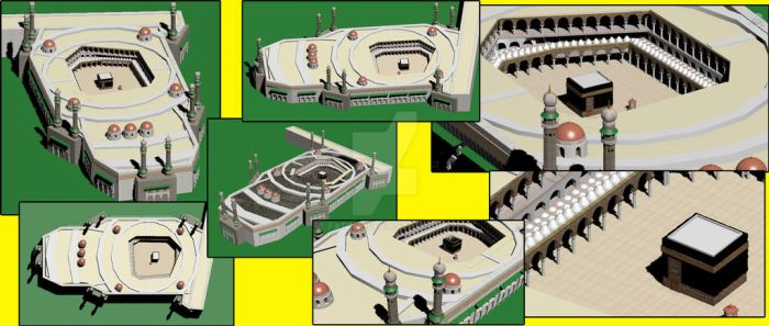 Kaaba 3D Kabe by fattey