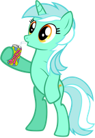 Lyra Drinking by Scourge707