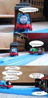 Thomas's day off part 9 by mrathehedgehog