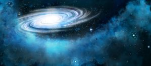 Spiral Galaxy by darthgaul
