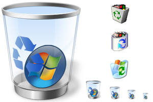 Windows Recycled icons by gLesTheArtist