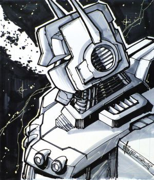 SDCC09- Optimus Prime by UdonCrew