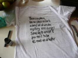 Mad Hatter t-shirt step 6 by DitaDiPolvere