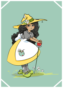 Daisy Witch by SpicyStarFruit