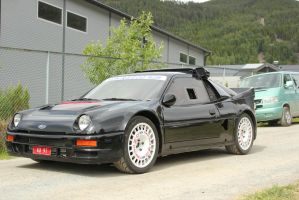 Ford RS200 by F4celessArt