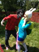 AnimeNEXT 2013: Marshall Lee and Fionna by ChriSpaiNess