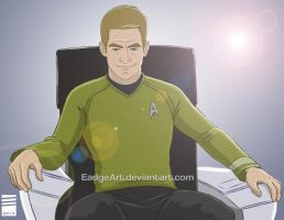 James Tiberius Kirk by EadgeArt