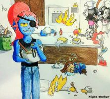 Cooking Lesson Gone Wrong by xx-Night-Waker-xx