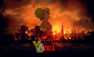 Yozilla by PxlCobit
