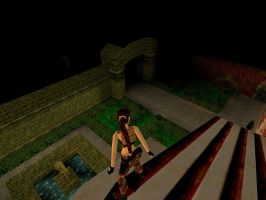 Tomb Raider III Screenshot Mansion's Roof by SSX12345