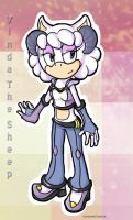 Sonic oc: Vinda the Sheep by BakaNekoChanSan
