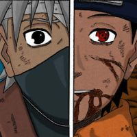 Kakashi Obito by Giuappa