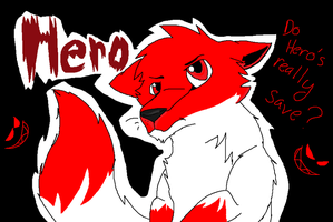 Hero's Comic cover by Obsidianthewolf