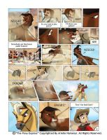 The Pony Express Page 1 Sample by AN-ChristianComics