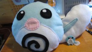 Poliwag Pillow by morbidvoid