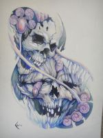 Tattoo design Skulls by Xenija88